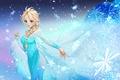Picture Dress, Frozen, Snowflakes, Disney, Girl, Elsa