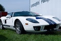 Picture Ford, GT, Stripes, White, Blue