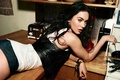 Picture pose, look, hairstyle, tattoo, Megan Fox, figure, the situation, actress, модельface, girl, lips, beauty, Megan ...