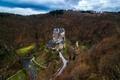 Picture forest, castle, Germany, Eltz Castle