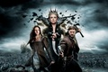 Picture battle, axe, Kristen Stewart, Charlize Theron, Snow White and the Huntsman, Snow white and the ...