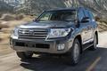 Picture jeep, 200, kruzak, cruiser, mountains, land cruiser, road, land cruiser, toyota, the front, SUV, Toyota