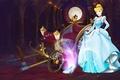 Picture lights, tale, dress, pumpkin, coach, Halloween, Disney, twilight, Cinderella, Disney, Cinderella, special edition, the glass ...