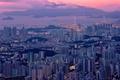 Picture city, night, hongkong
