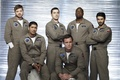 Picture Defying gravity, The series, the main actors of the series, astronauts, Movies