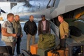 Picture Luggage, Sylvester Stallone, Gunner Jensen, the plane, The Expendables 3, The expendables 3, Doc, Wesley ...