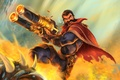 Picture weapons, cigar, male, gun, League of Legends, Graves, Outlaw