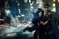 Picture lights, cyberpunk, Noir, detective, femme fatale