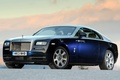 Picture Rolls Royce, Wraith, blue