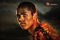 Picture Coal, Football, Douglas Costa, Douglas Costa, Fire, Face, Player, Sport