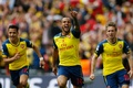 Picture background, victory, Arsenal, Arsenal, Football Club, the gunners, The Gunners, football club, Theo Walcott, Theo ...