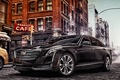 Picture the city, street, Cadillac, sedan, Cadillac, CT6