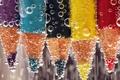 Picture pencils, water, liquid, bubbles