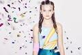 Picture girl, spring, teens, Aladdin Sane, lightning flash leotard, Dandy Star, 2016 kids, fashion
