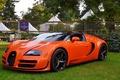 Picture veyron, orange, vitesse, bugatti