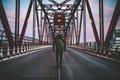 Picture jeans, New York, the hood, men, United States, The Queensboro bridge