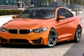 Picture BMW, orange, BMW, Orange, Photoshop, Coupe, F82, by dangeruss, 3D Studio MAX, Vray