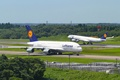 Picture Lufthansa, Flight, Airbus, Taxiing, A380, Taxiing, 800, Airport, Landing, Airport, Flight, Lufthansa, Germany, Germany, A340, ...