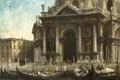 Picture picture, Venice, the urban landscape, Edward Seago, Gondolas near the Salute