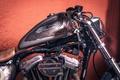 Picture vintage, Harley-Davidson, motorcycle, chopper