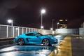 Picture Porsche, Lights, Cayman, Blue, Side, 2016, Metallic, 718, S, Car