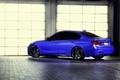 Picture wheels, f30, blue, vossen, rearside, BMW, 335i