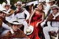 Picture Mexican guys, June 2014, Vogue, Karlie Kloss