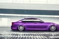 Picture BMW, German, Car, Purple, Color, Side, 7 Series, Vossen, Low, Wheels