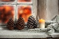 Picture winter, light, snow, candle, window, Christmas, light, holidays, winter, snow, holidays, window, Merry Christmas, candle, ...