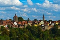 Picture the sky, the city, photo, home, Germany, Bayern, Pigeons