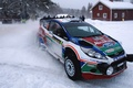 Picture Ford, Winter, Auto, Snow, Sport, Machine, Race, The hood, Skid, Lights, WRC, the front, Rally, ...