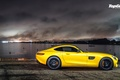 Picture 2015, Mercedes-Benz, Top Gear, Supercar, Yellow, AMG, Side