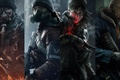 Picture weapons, look, Tom Clancys The Division, mask, watch, soldiers, Division, Ubisoft, tattoo, fighters, agent