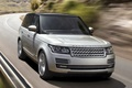 Picture Land Rover, the front, Range Rover, Land Rover, Range Rover, road