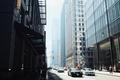 Picture Canada, cars, street, people, Toronto, traffic, buildings, transport, mundane, vehicles, banal