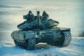 "Picture courage, Ukraine, regiment, ""Azov"", T-64B1M, ""Azov"", the Ukrainian army, tank, courage, machine gun, Ukraine, 2016., ..."