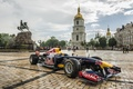 Picture formula, race, the car, rain, Red bull, Infiniti, Kiev, Ukraine