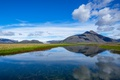 Picture Iceland, landscape, mountains, lake