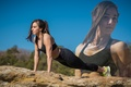 Picture pose, workout, fitness, outdoors