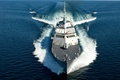 Picture SEA, SHIP, SPEED, GUN, WEAPONS, DECK