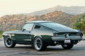 Picture Fastback, Hills, 1967, Desert, Road, Mustang, Ford