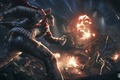 Picture bike, art, soldiers, motorcycle, the uprising, the explosion, night, Homefront: The Revolution, homefront, fire