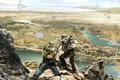 Picture weapons, hologram, soldiers, tactics, squad Ghost, Ghost Recon: Future Soldier, Tom Clancy's