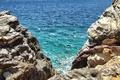 Picture rocks, Aegean Sea, rocks, The Aegean sea