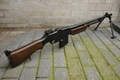 Picture weapons, Browning M1918, automatic, rifle
