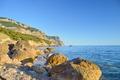Picture sea, landscape, Crimea, beach, Balaclava
