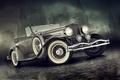 Picture retro, Duesenberg, Alexandr Novitskiy, machine, auto, classic