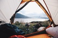 Picture bowler, tent, stay, nature