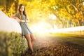Picture autumn, legs, Nayara