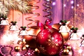 Picture balls, vector, pattern, new year, Christmas